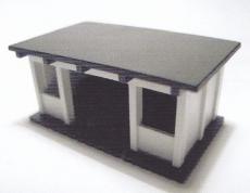 Bausatz DDR-Buswartehäuschen, BeKa