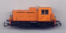 Diesellok TGK-2 Kaluga, gelb, DDR-Werkslok