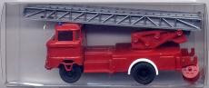 IFA W50 Feuerwehr-Drehleiter, rot