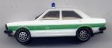 Audi 80GTE, Polizei, grün / weiß