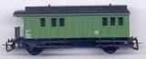 2achsiger Oldtime-Gepäckwagen, grün