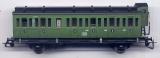 3achsiger Abteilwagen 2. Klasse mit Bremserhaus, DB