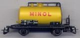 2achsiger Kesselwagen Minol, DR, gelb