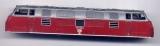 Oberteil für Diesellok BR 221, DB, rot / silbergrau