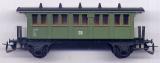 2achsiger Oldtime-Personenwagen, DR, grün