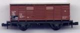 2achsiger Gedeckter Güterwagen, DB, braun