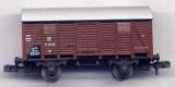 2achsiger Gedeckter Güterwagen, DR, braun