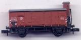 2achsiger Gedeckter Güterwagen G10, DB, braun