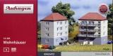 2 Wohnhäuser, Bausatz, Auhagen