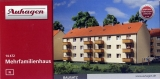 Mehrfamilienhaus (AWG-Wohnblock), Bausatz, Auhagen