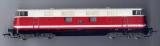 Diesellok BR 118, DR, rot / elfenbein