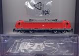 E-Lok BR 147, DBAG, rot