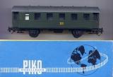2achsiger Personenwagen Bi 33a, DR, grün