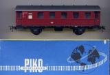 2achsiger Personenwagen, DB, rot
