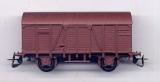 2achsiger Gedeckter Güterwagen, braun, Tonnendach