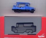 IFA G5 Kranauto, blau, Herpa