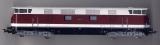 Diesellok BR 118 131-2, DR, Vollsichtkanzel, rot / creme; Piko (Nachwende)