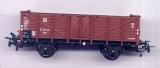 2achsiger Offener Güterwagen Omu, DR, braun, Trix