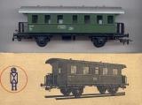 2achsiger Personenwagen (Donnerbüchse), DR, grün