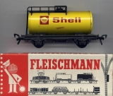 2achsiger Kesselwagen Shell, Blech