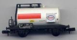 2achsiger Kesselwagen Esso, weiß / rot