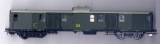4achsiger Schnellzug-Gepäckwagen, DR, grün