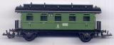 2achsiger Personenwagen 2. Klasse, KPEV, grün