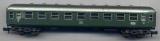 Schnellzugwagen, DB, grün, Minitrix