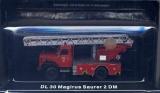 Feuerwehr-Drehleiter DL-30 Magirus-Saurer 2DM, Maßstab 1:72