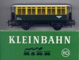 2achsiger Lokalbahn-Personenwagen, grün / gelb
